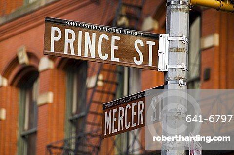 Soho, Manhattan, New York City, New York, United States of America, North America