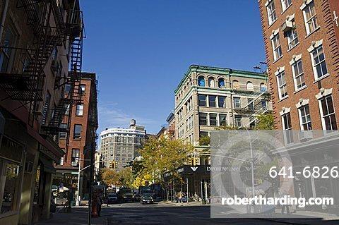 Spring Street, Soho, Manhattan, New York City, New York, United States of America, North America