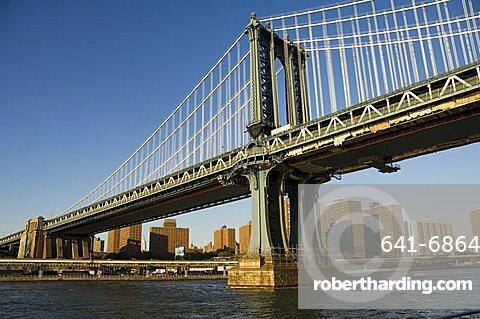 Manhattan Bridge, New York City, New York, United States of America, North America