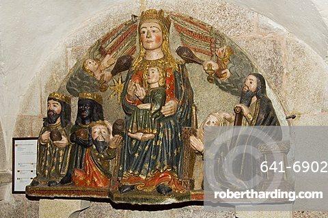 In the museum, Santiago Cathedral, Santiago de Compostela, Galicia, Spain, Europe