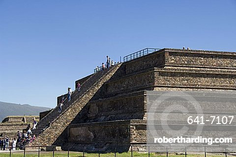 The Citadel, Teotihuacan, UNESCO World Heritage Site, north of Mexico City, Mexico, North America