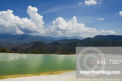 Hierve el Agua (the water boils), hot springs, Oaxaca, Mexico, North America