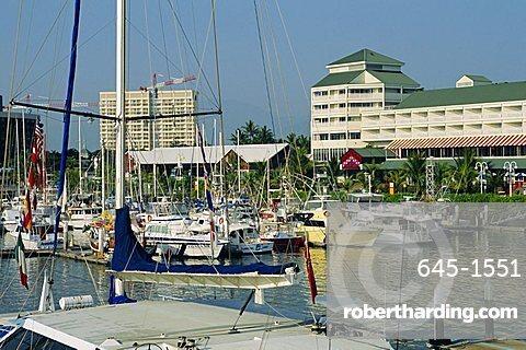 Boat harbour, Cairns, Queensland, Australia