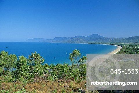 Four Mile Beach at Port Douglas, Queensland, Australia
