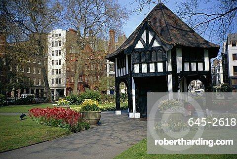 The Gardener's Lodge in Soho Square, London, England, United Kingdom, Europe