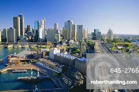 City skyline, Sydney, New South Wales, Australia
