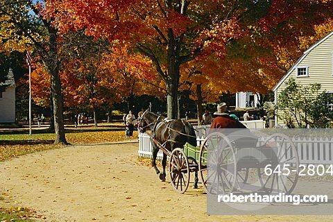 Old Sturbridge Village, a history museum recreating 1830's life, Massachusetts, USA