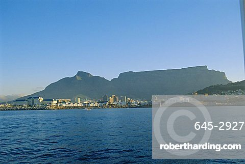 Cape Town with Table Mountain behind, South Africa