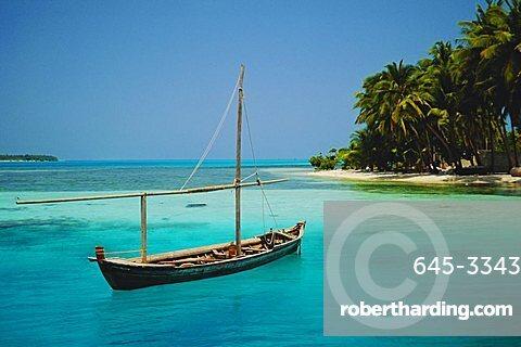 The island of Guriadu, Maldives