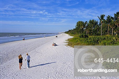 Naples Beach, Naples, Florida, USA