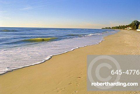 Naples Beach, Florida, USA