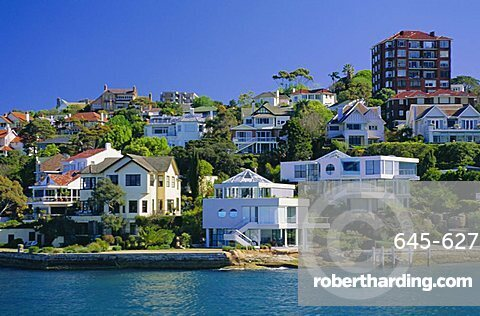 The exclusive suburb of Double Bay, Sydney, New South Wales, Australia