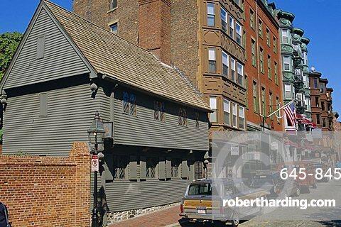 Paul Revere's House, Boston, Massachusetts, USA