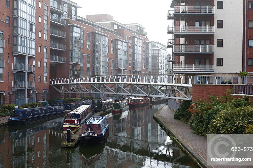 Birmingham Canal Navigations (BCN), Birmingham, West Midlands, England, United Kingdom, Europe