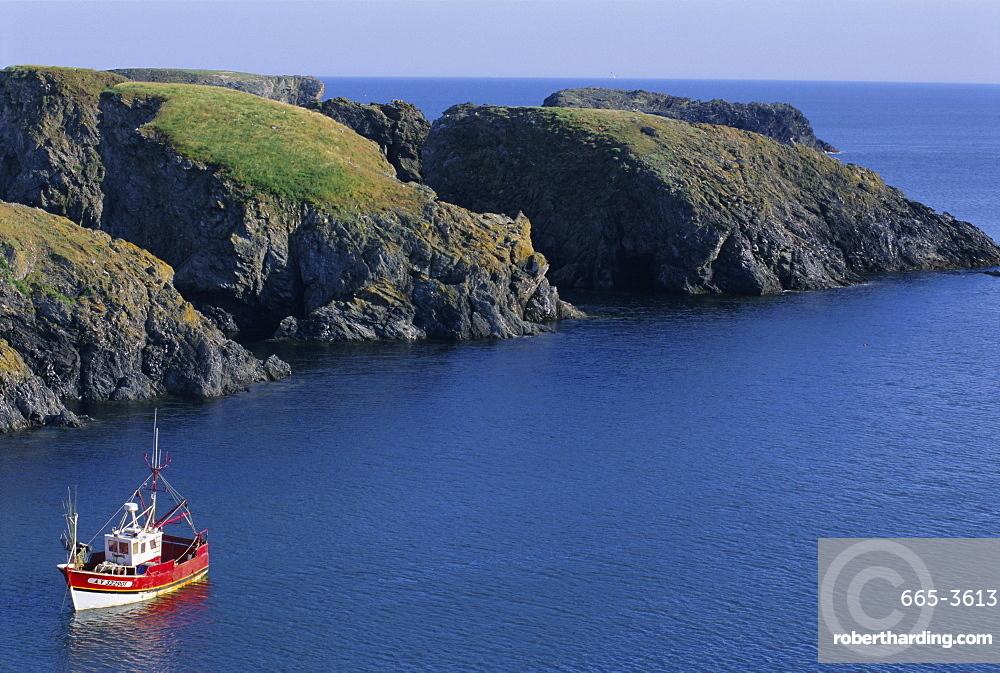 Anse de Goulphar, Belle Ile en Mer island, Brittany, France, Europe