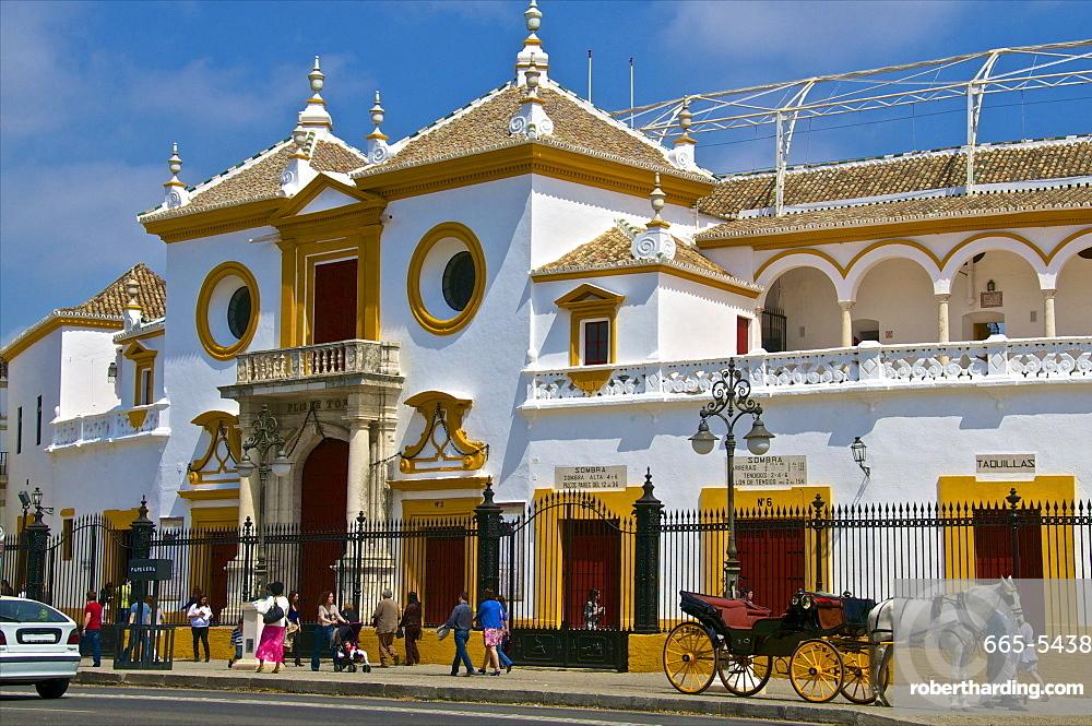 Plaza de Toros, Seville, Andalusia, Spain, Europe