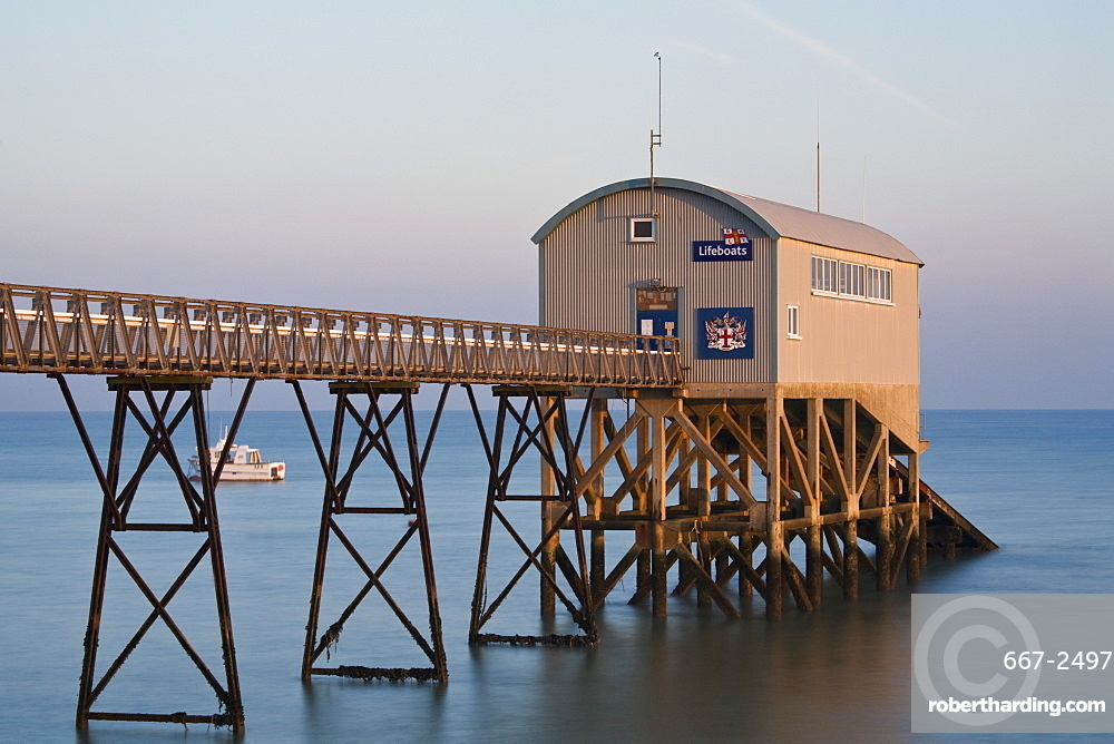 Lifeboat Station, Selsey, West Sussex, England, United Kingdom, Europe