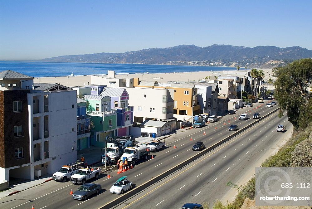 Pacific Coast Highway, Santa Monica, California, United States of America, North America