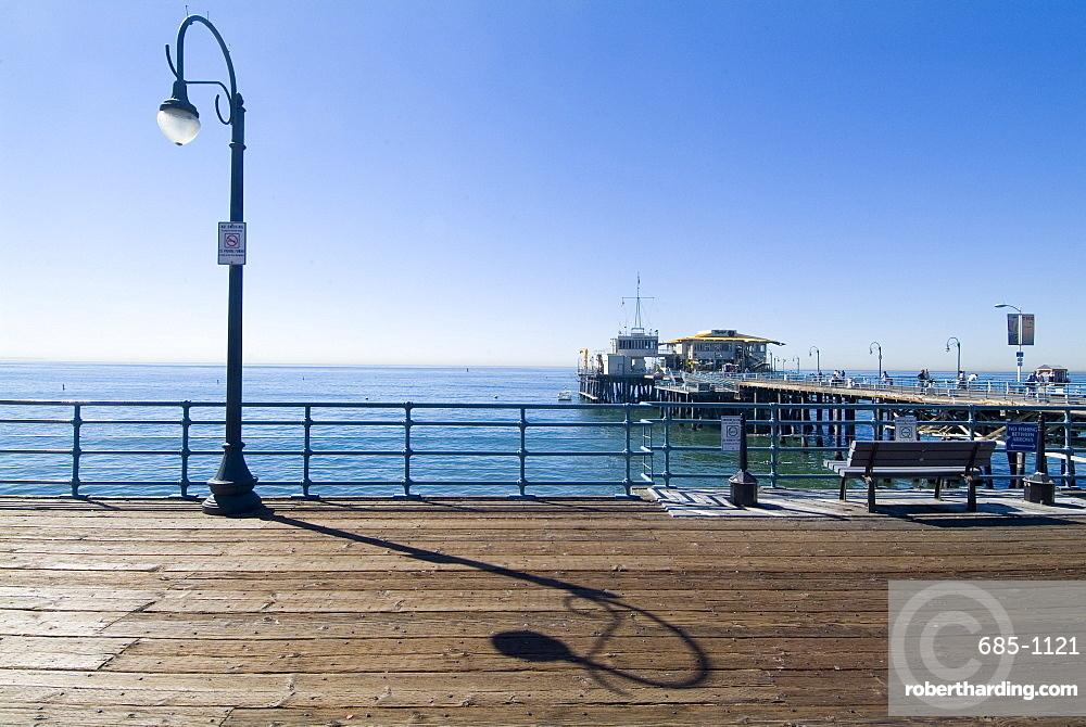 Santa Monica Pier, Santa Monica, California, United States of America, North America