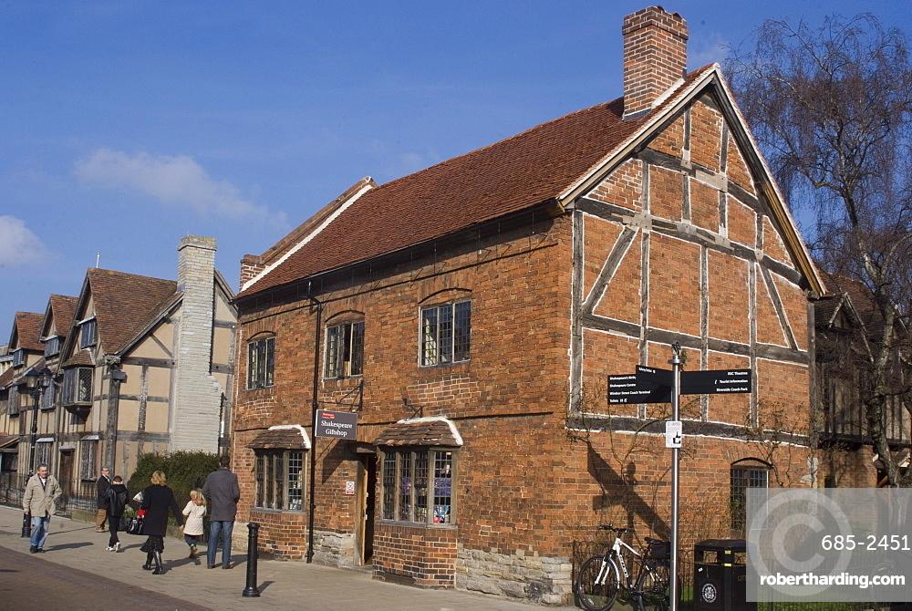 Henley Street, Stratford upon Avon, Warwickshire, England, United Kingdom, Europe