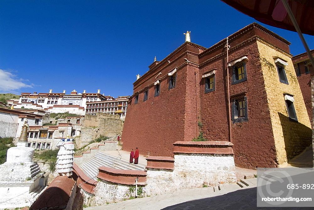 Ganden Monastery, near Lhasa, Tibet, China, Asia