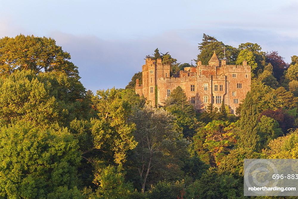 Dunster Castle, Somerset, England, United Kingdom, Europe