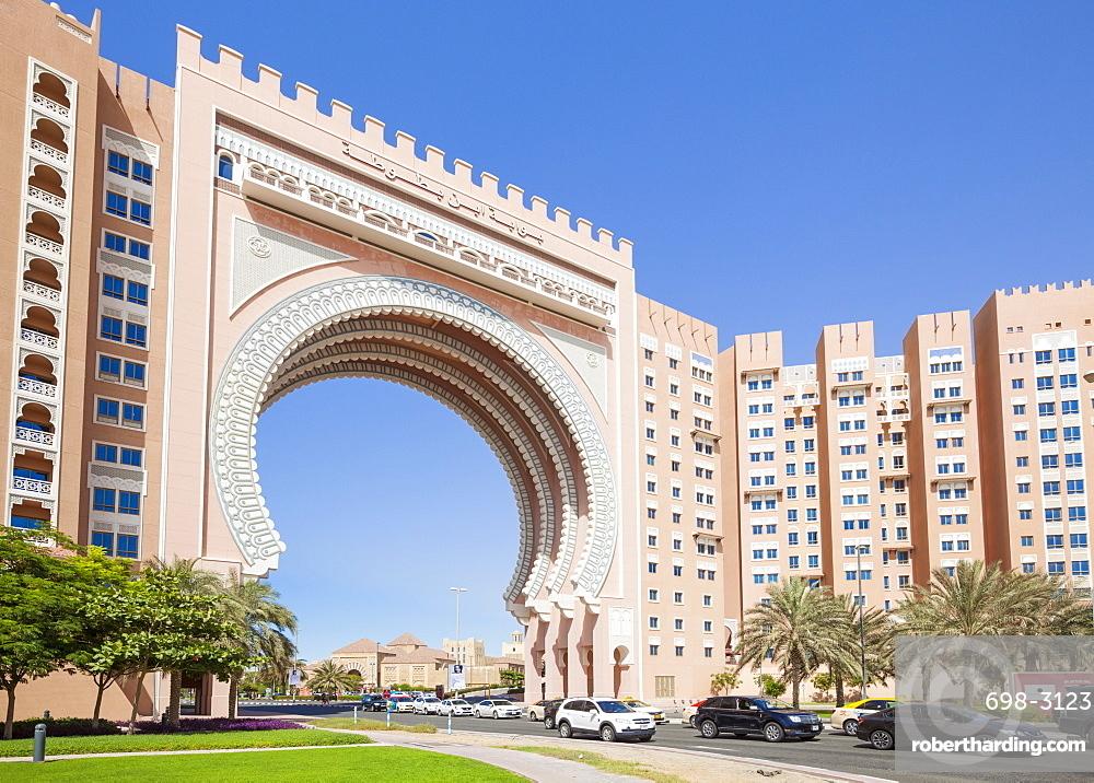 Ibn Battuta Gate, entance to the Ibn Battuta Mall, Dubai City, United Arab Emirates, Middle East