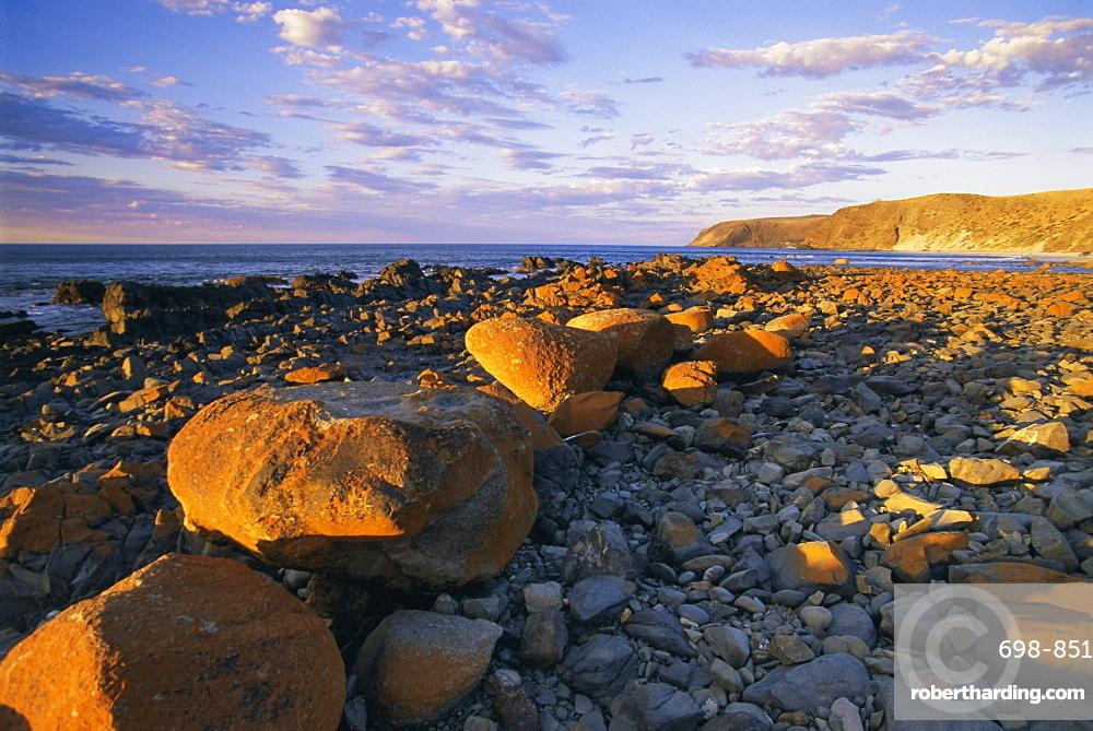 Morgans Beach, Cape Jervis, South Australia, Australia