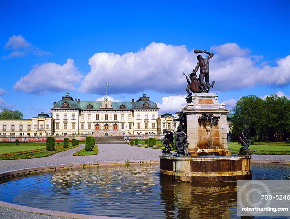 Drottiningholm Castle, Stockholm, Sweden