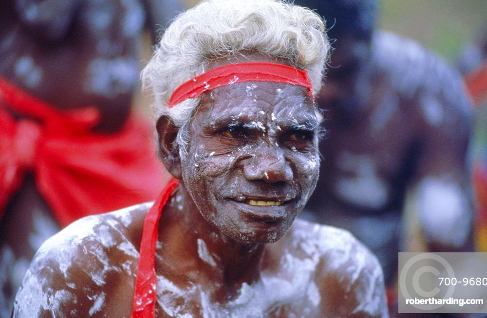 Aborigine man, Australia