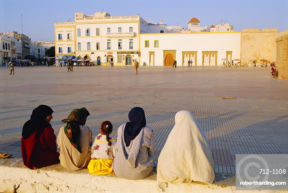 Moulay Assan Square, Essaouira, Morocco