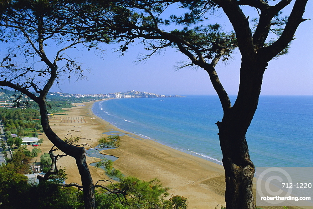 Gargano, Vieste beach, Apulia (Puglia), Italy