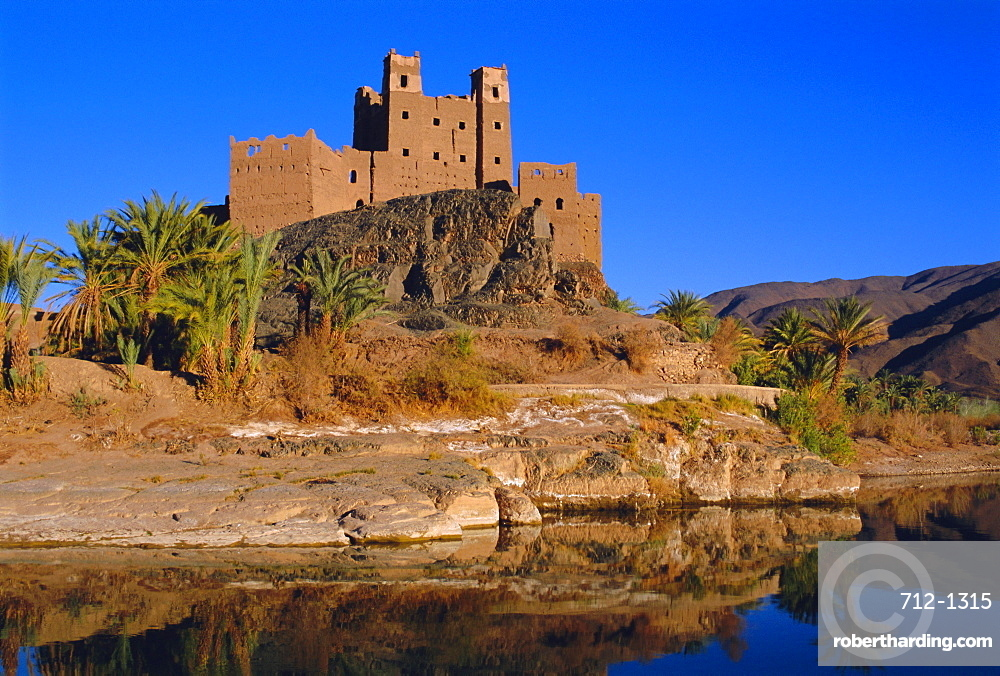 Ait Hamou ou Said Kasbah, Draa Valley, Morocco, North Africa
