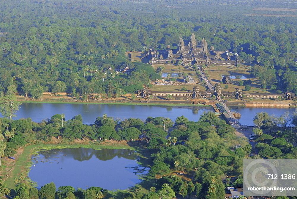 Angkor Wat, Siem Reap, Cambodia, Indochina, Asia