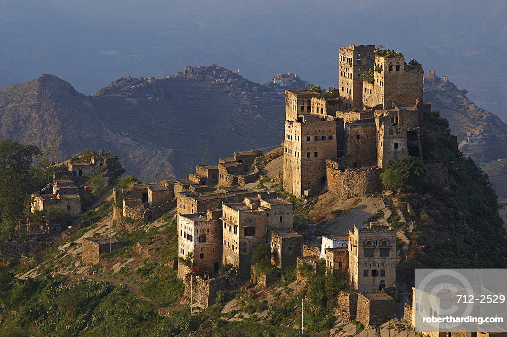 Al Jaray village, Al Mahwit region, Central Mountains, Yemen, Middle East