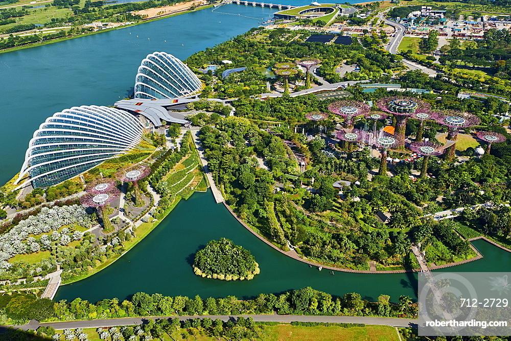 Garden By the Bay, botanic garden, Marina Bay, Singapore, Southeast Asia, Asia