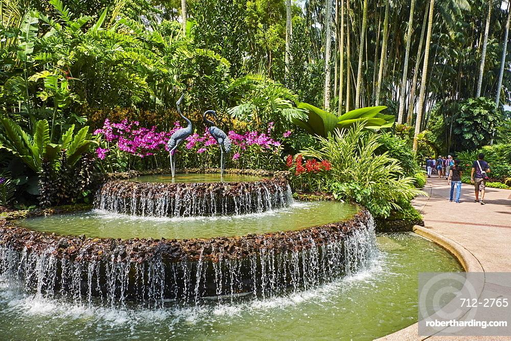 National Orchid Garden, Botanic Garden, UNESCO World Heritage Site, Singapore, Southeast Asia, Asia