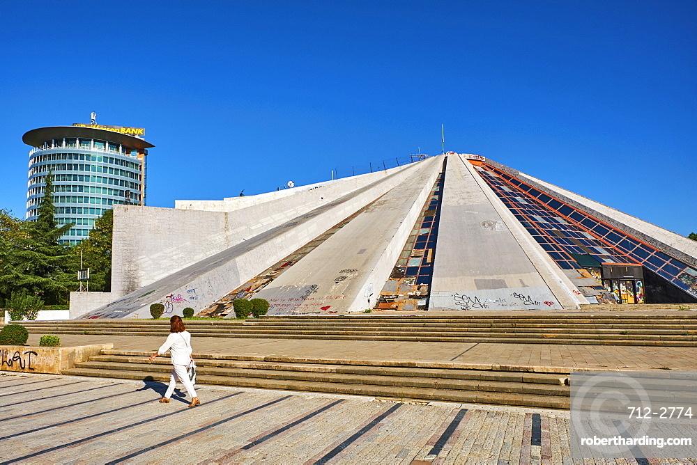 The Pyramid (Piramida), Tirana, Albania, Europe
