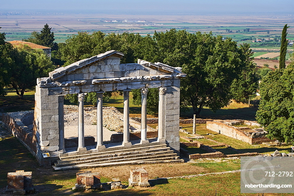 Ancient Greek town, Appollonia, Fier Province, Albania, Europe