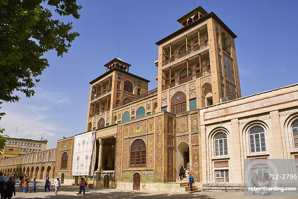 Golestan Palace, UNESCO World Heritage Site, Tehran, Iran, Middle East