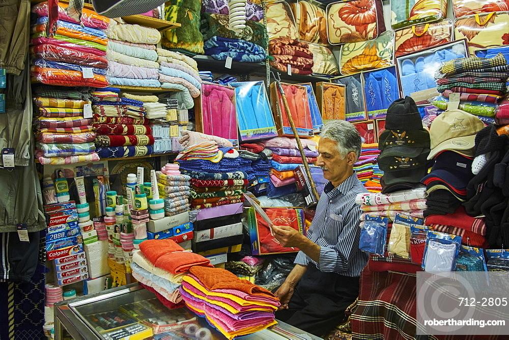 The bazaar, Kashan City, Isfahan Province, Iran, Middle East