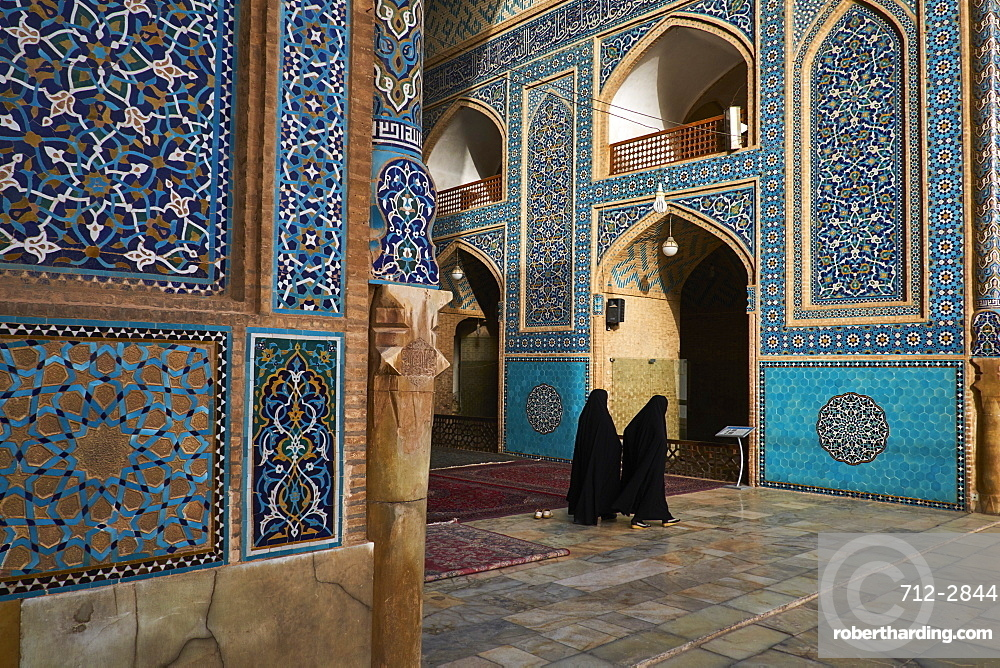 Friday Mosque, Yazd, Yazd Province, Iran, Middle East