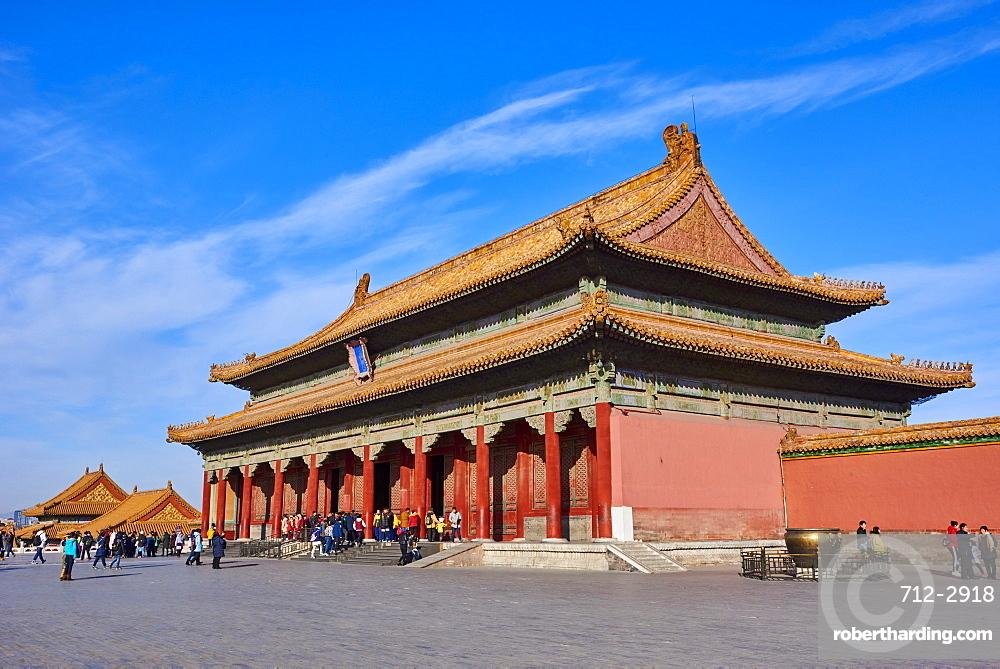Hall of Supreme Harmony, Forbidden City, Beijing, China, East Asia