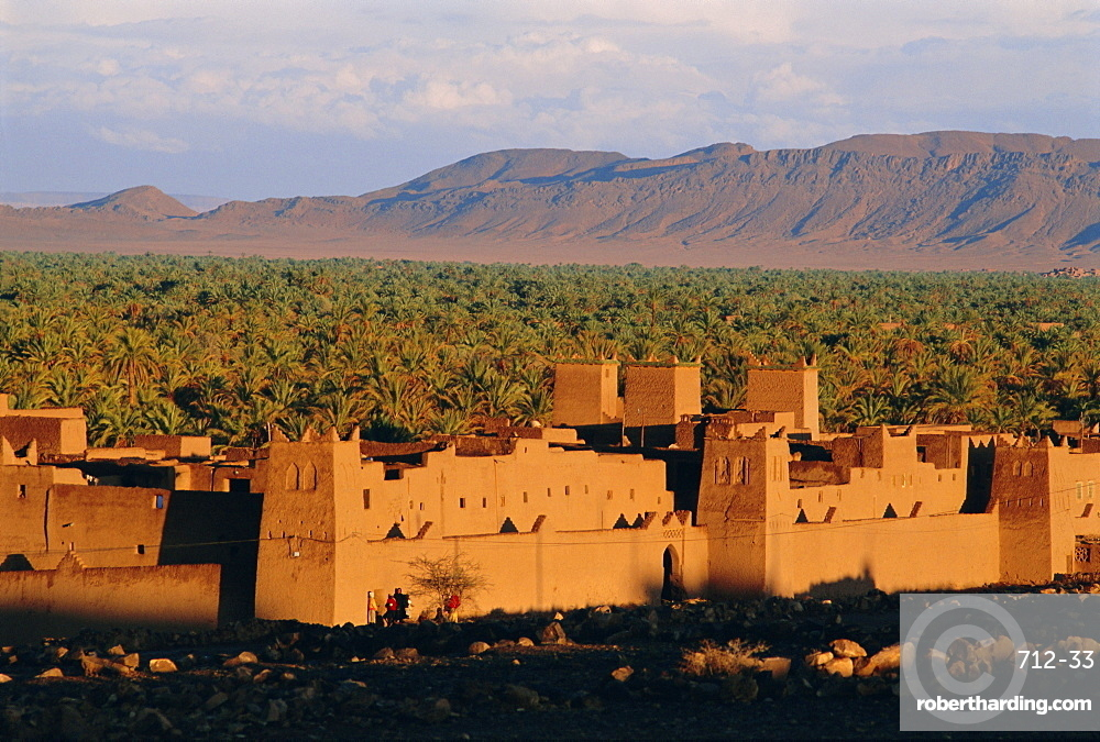 Zagora, Draa Valley, Anti Atlas mountains, Morocco, North Africa, Africa