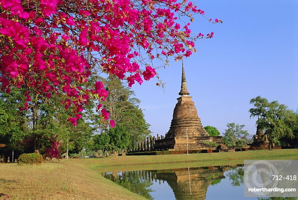 Wat Sa Sri, Sukhothai, Thailand, Asia
