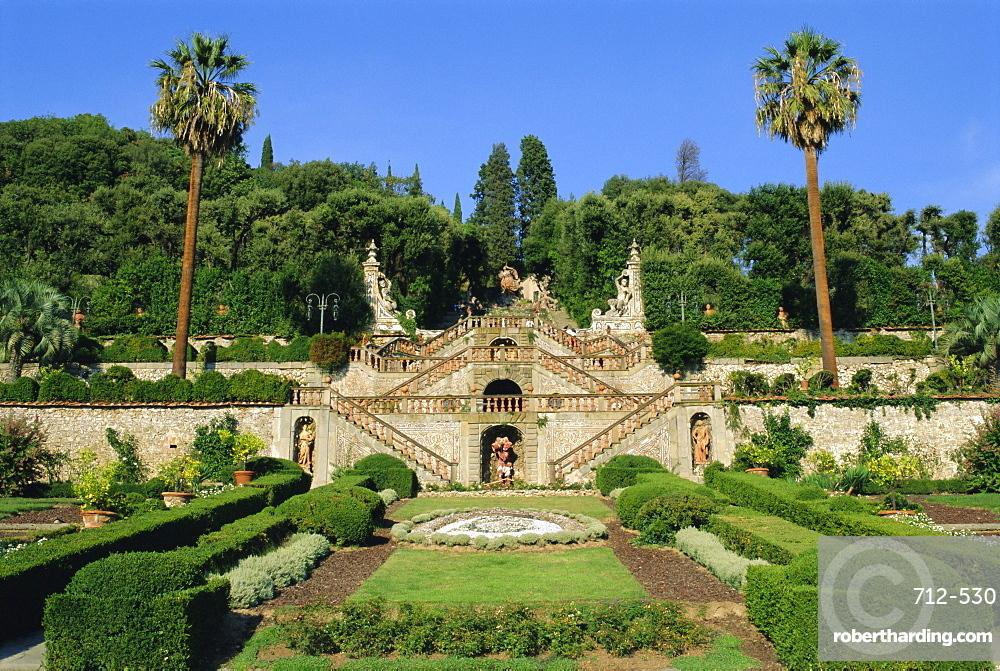Villa Garzoni, Collodi, Tuscany, Italy