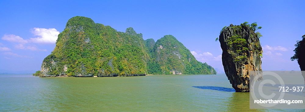 Ko Tapu (Clou Island or James Bond's island) Ao Phangnga, Phuket Province, Thailand