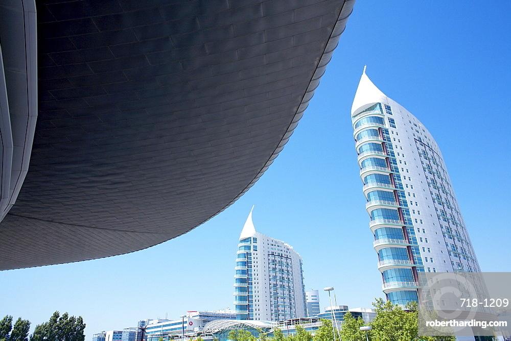 Atlantic Pavillon, Parque des Nacoes, Lisbon, Portugal, Europe