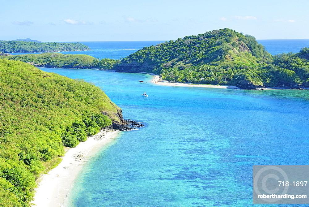Drawaqa Island, Yasawa island group, Fiji, South Pacific islands, Pacific