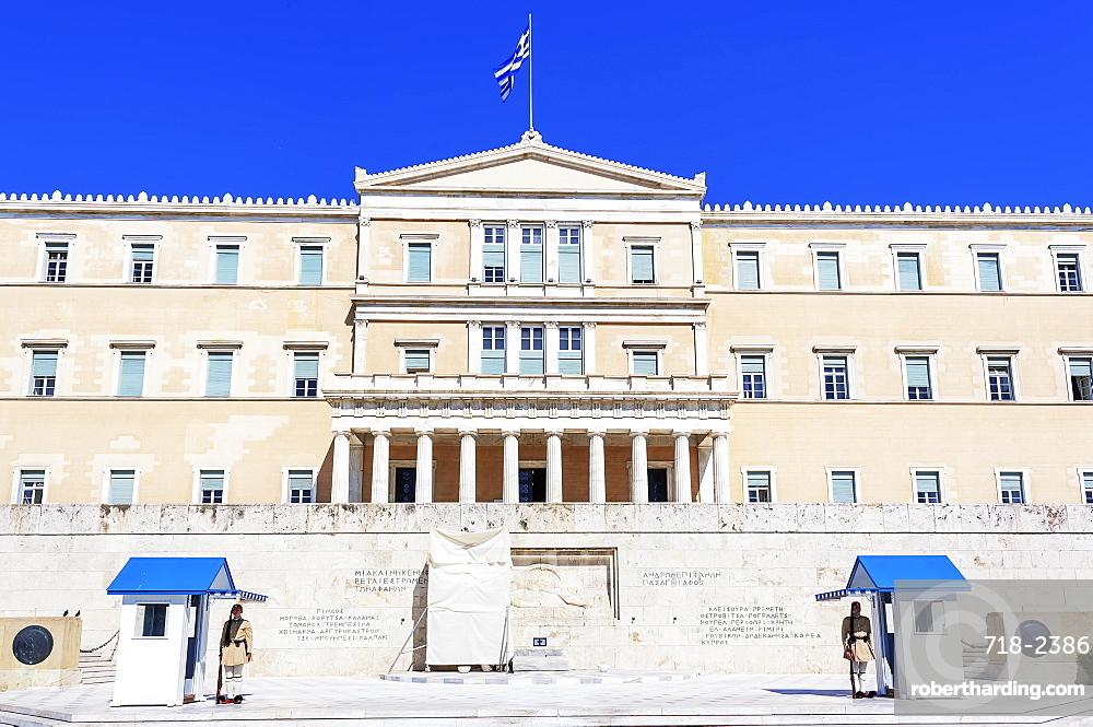 Parliament building, Athens, Greece, Europe